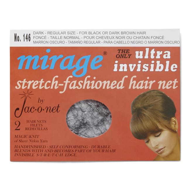 Mirage Ultra Invisible Dark Hair Net
