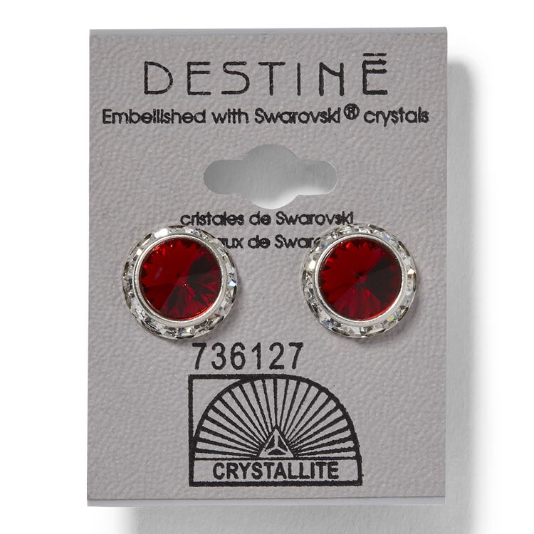 Destine Rivoli Earrings Light Siam