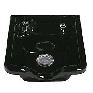 Alpha Porcelain Shampoo Bowl #3800 Black