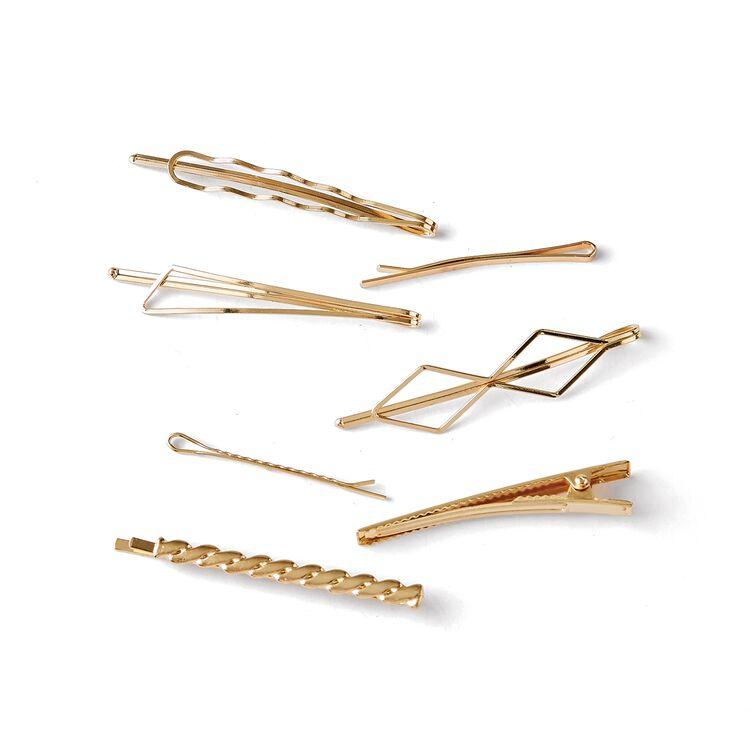 Metal Bobby Pin Set