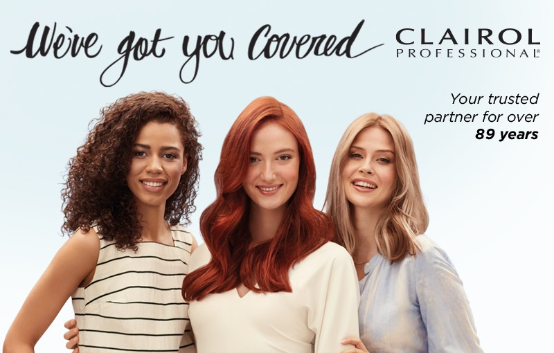 Clairol Professions True Color. Best at-home hair color.