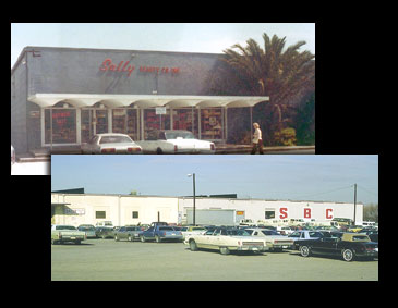 Sally's 25th store and their new headquarters in Denton, Texas