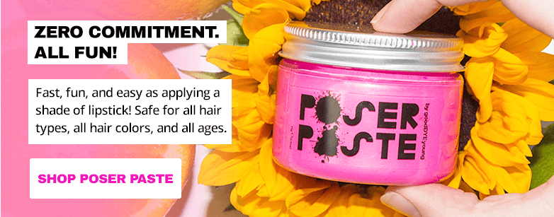 Zero commitment. All fun. Fast, fun, and easy as applying a shade of lipstick. Safe for all hair types, all hair colors, and all ages.