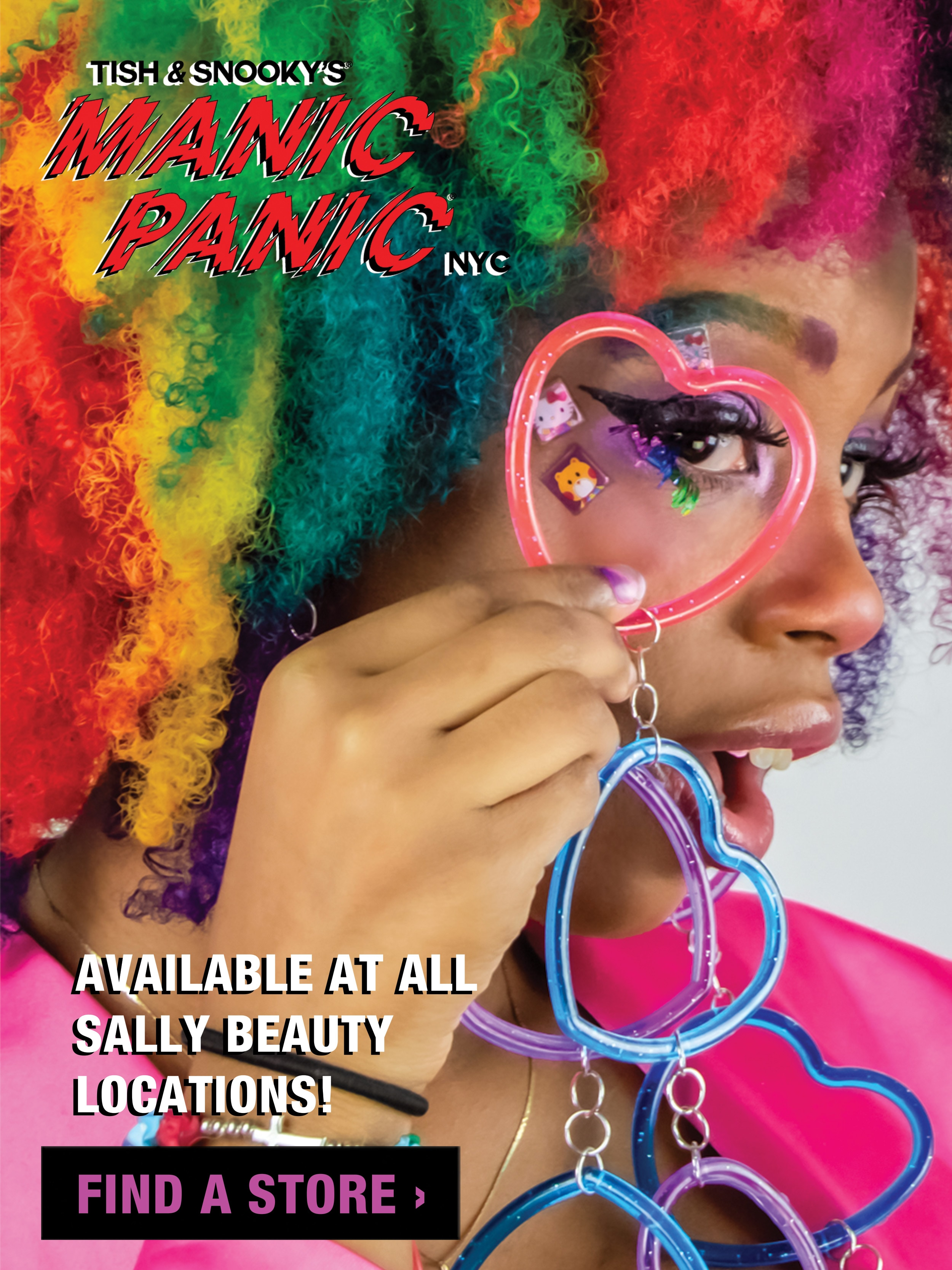 Now available at all Sally Beauty locations. Find a store.
