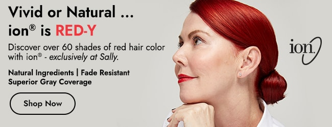 ion red hair color