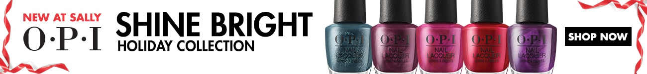 New at Sally: OPI Shine Bright Holiday Collection
