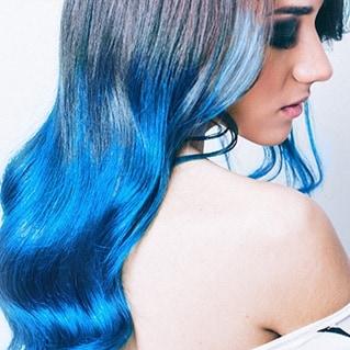 Nebula Blue look