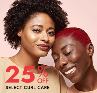 25%  Off Select Textured Hair Care