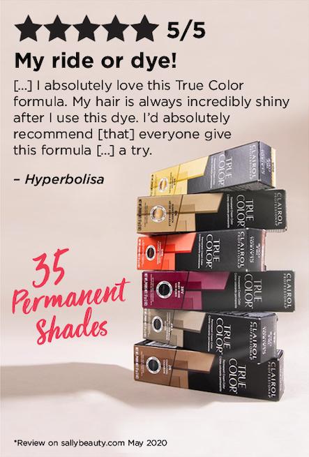 35 permanent shades