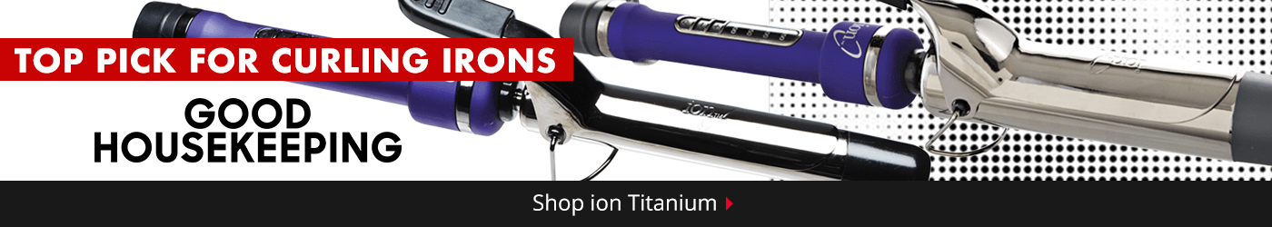 ion Titanium Curling Iron