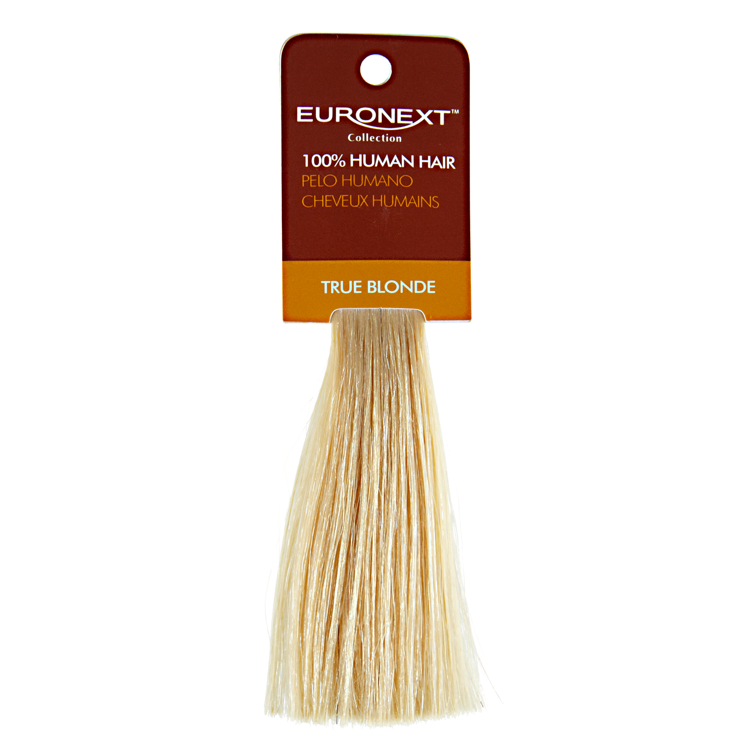 Euronext Premium Remy Clip In Human Hair Swatch