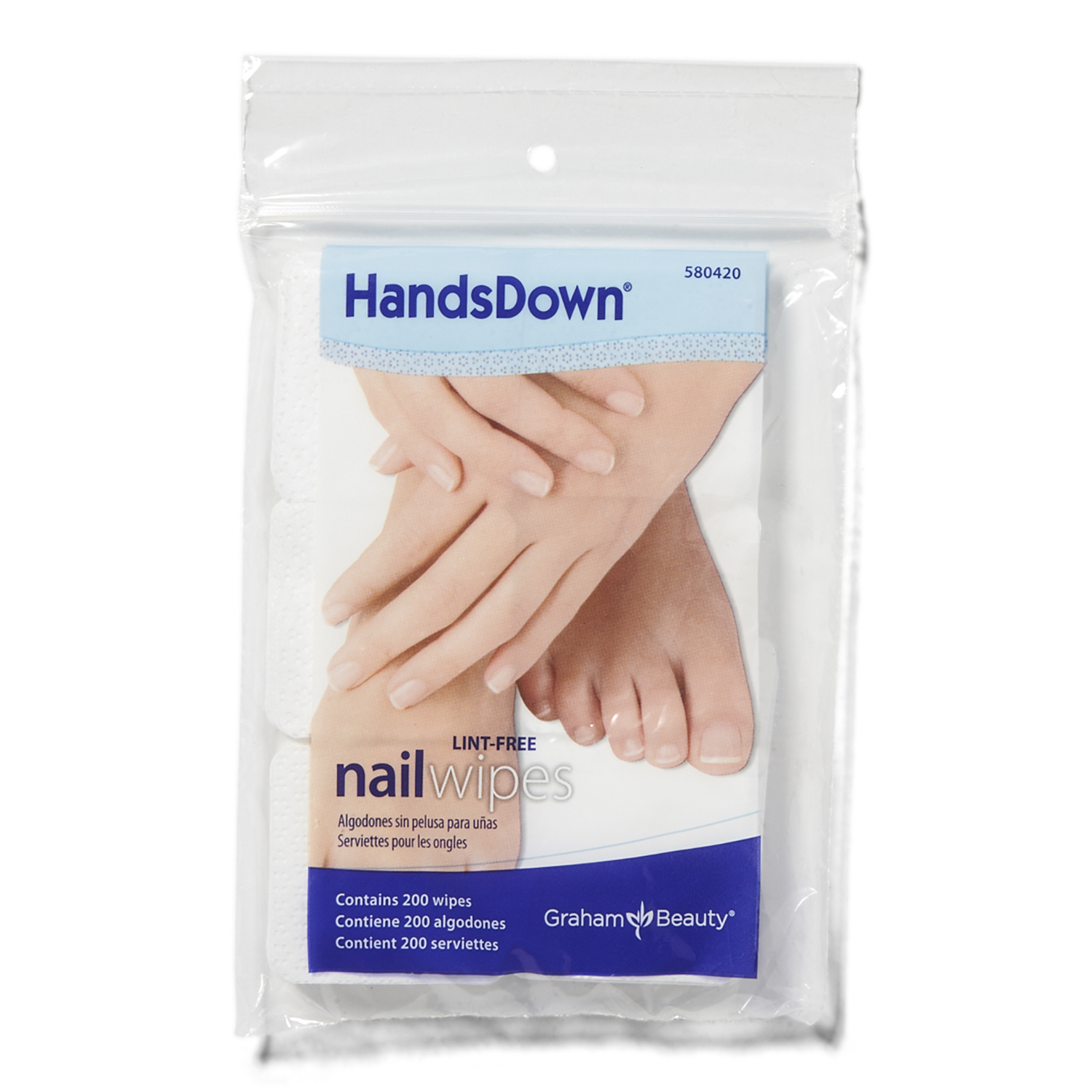 Sally Beauty coupon: Graham Professional Beauty Hands Down Nail Wipes | Sally Beauty