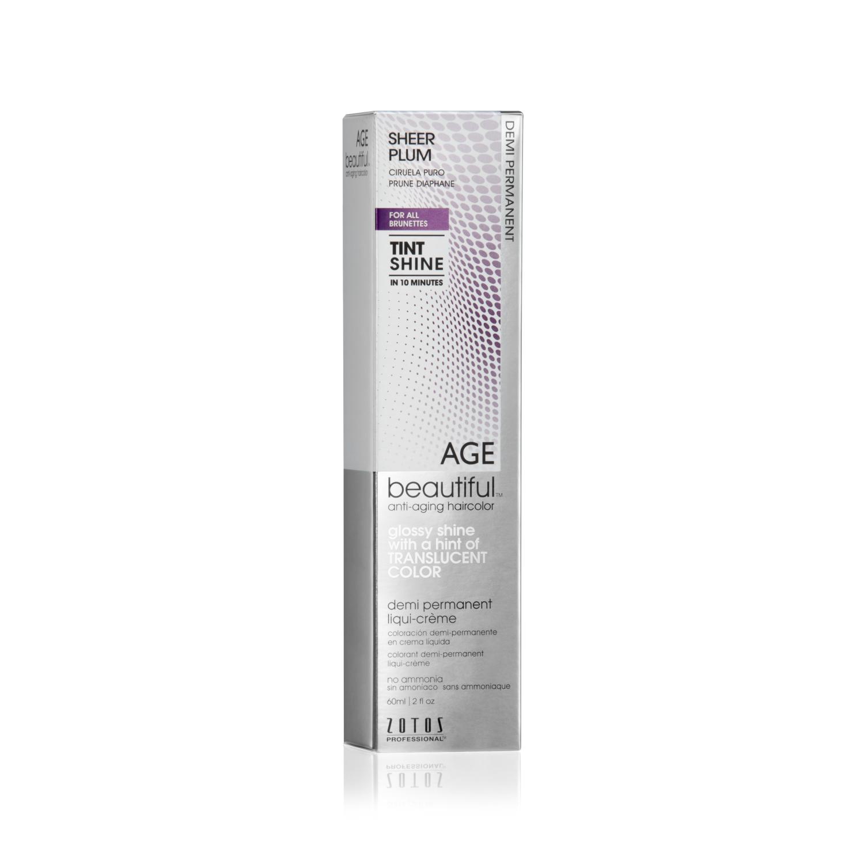 Agebeautiful Anti Aging Tint Shine Demi Permanent Hair Color