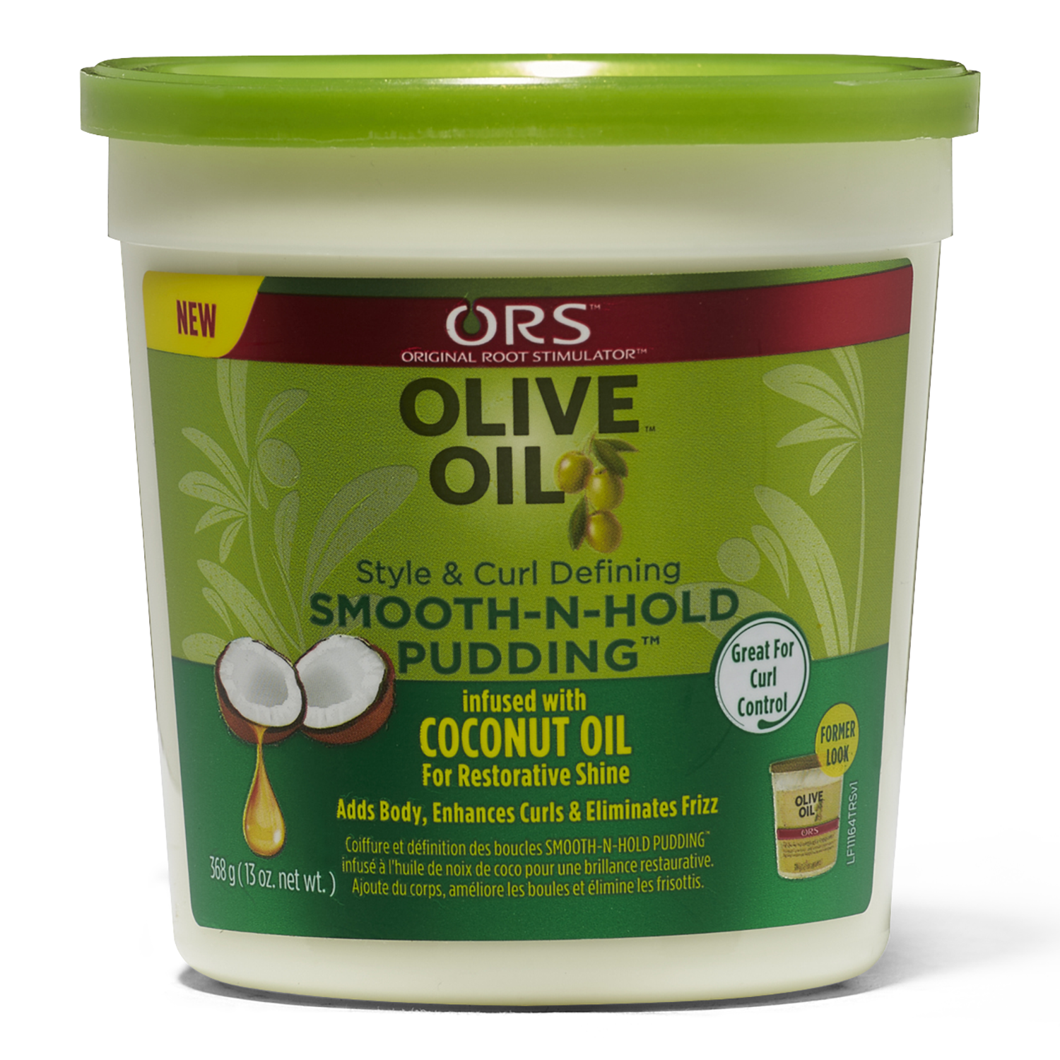 Olive Oil Smooth N Hold Pudding Natural Hair