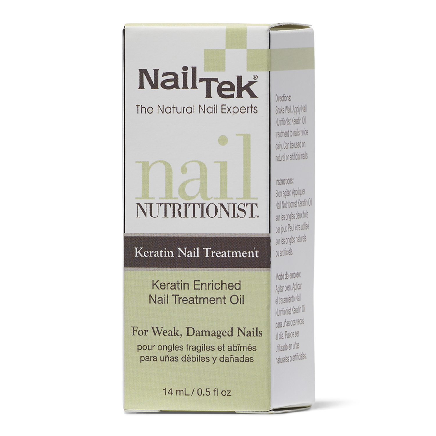 Nail Tek Nail Nutritionist with Keratin Oil