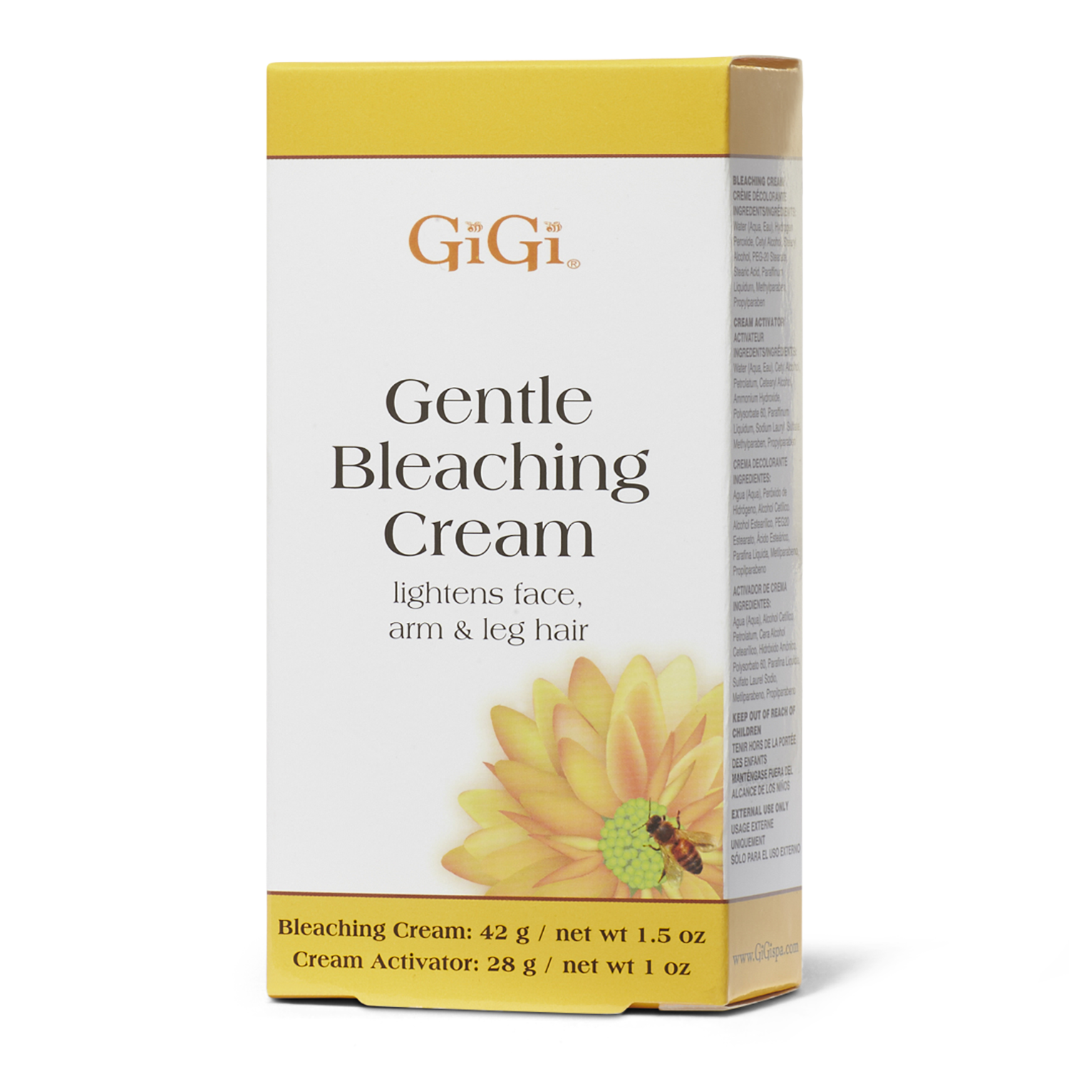 gigi gentle bleaching cream