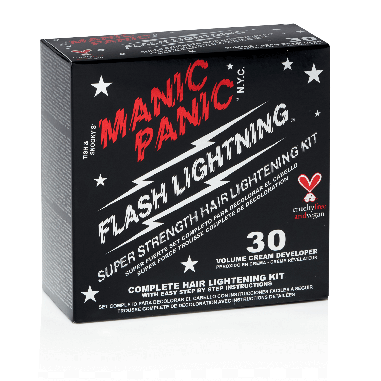Manic Panic Flash Lightening 30 Volume Bleach Kit