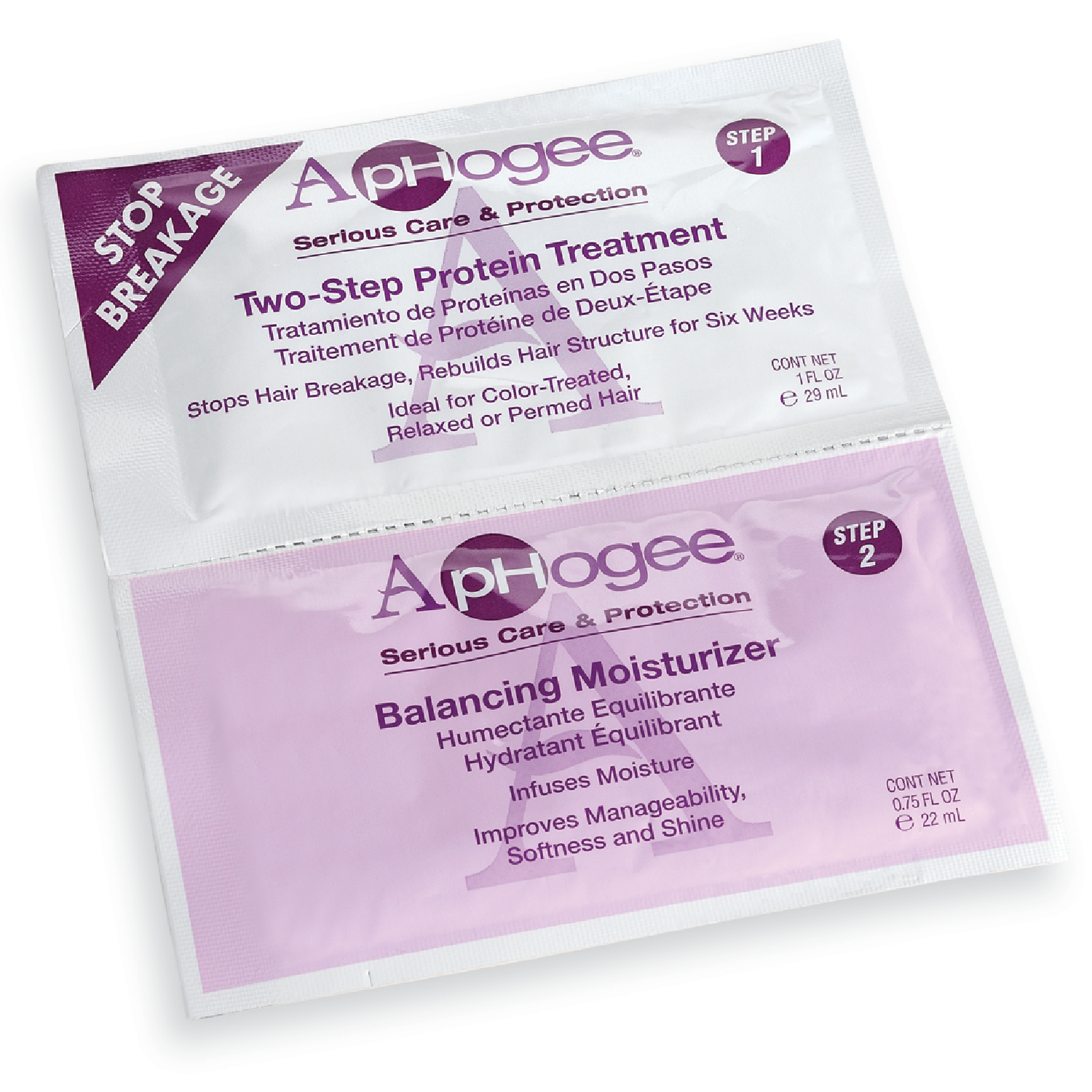 Aphogee Two Step Protein Treatment Balanced Moisturizer By Two