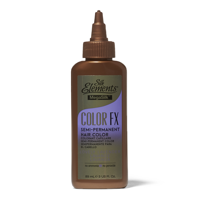 Silk Elements Color Fx Semi Permanent Hair Color Lovely Lavender