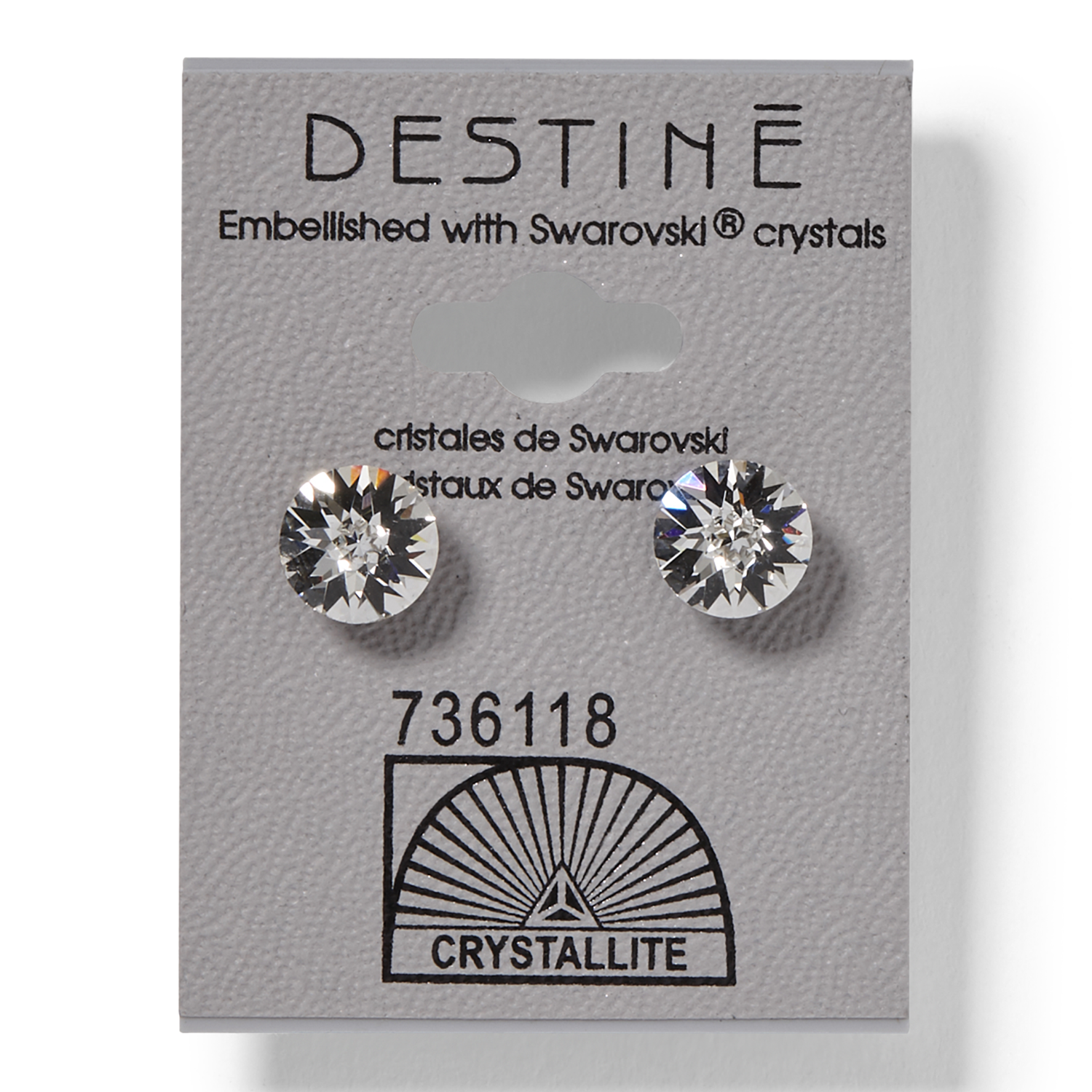 Sally Beauty coupon: Destine Double Diamond Cut Earrings