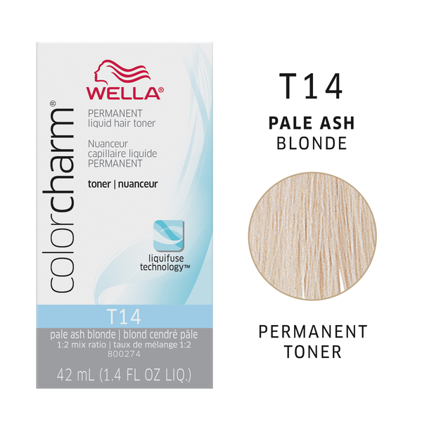 Wella Color Charm Blonde Hair Toners | Hair Toner & Developer ...