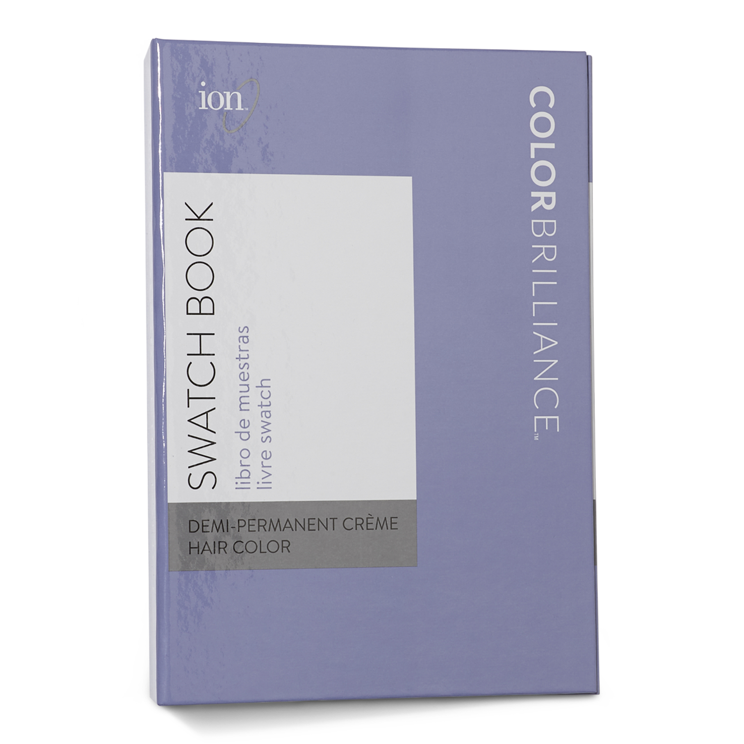 Ion Color Brilliance Demi Permanent Hair Color Swatch Book Hair