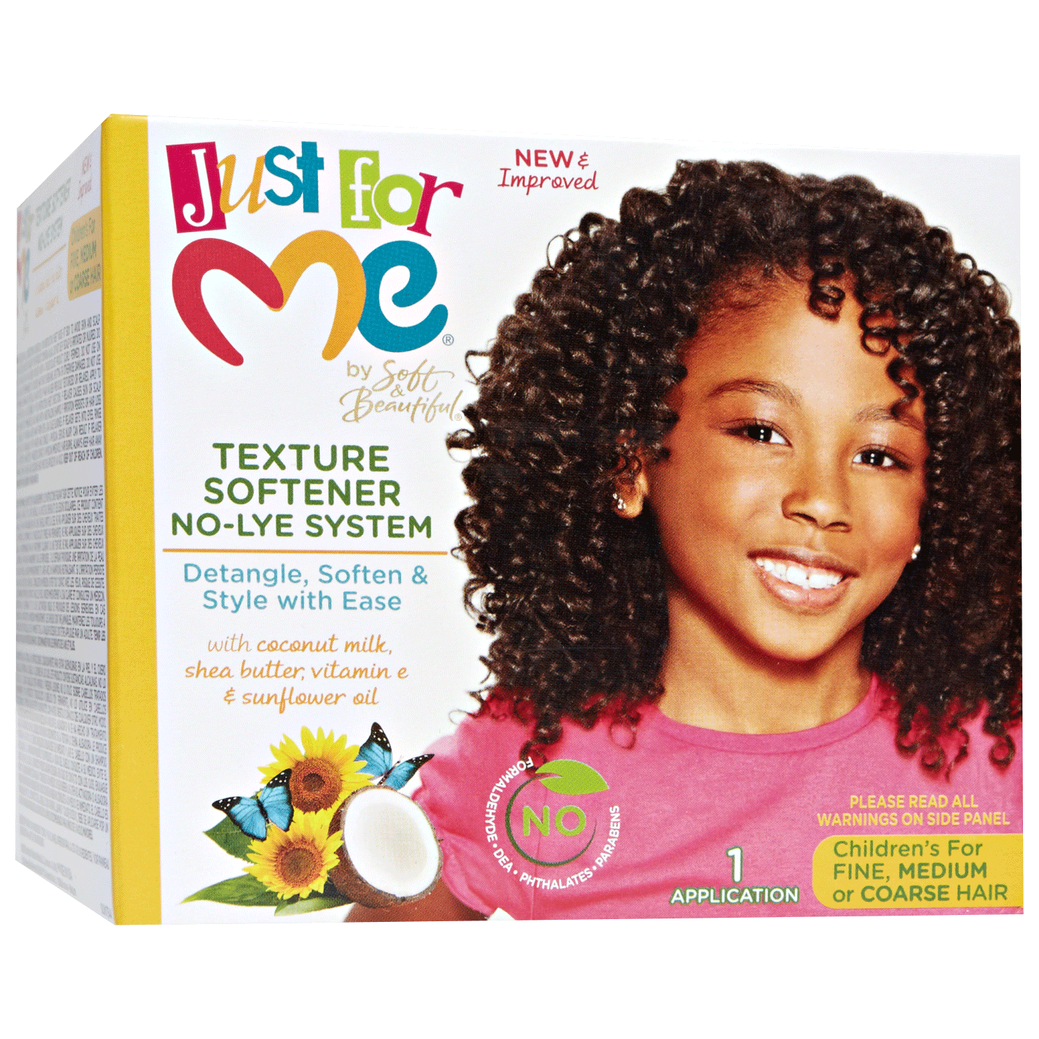 Soft Beautiful Just For Me No Lye Texture Softener Kit