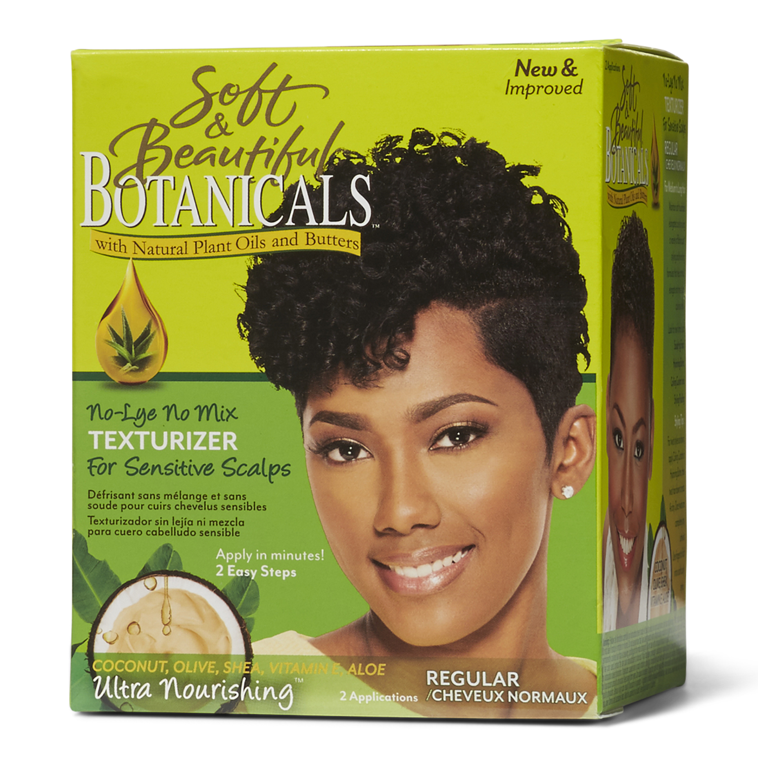 Soft Amp Beautiful Botanicals Regular Texturizer