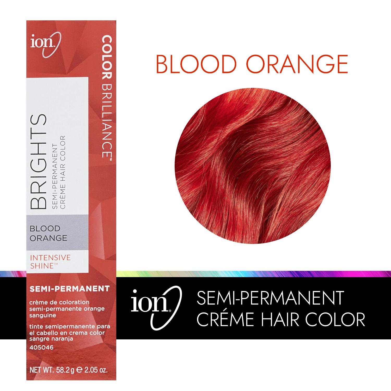 ion Color Brilliance Semi Permanent Neon Brights Hair Color Blood ...