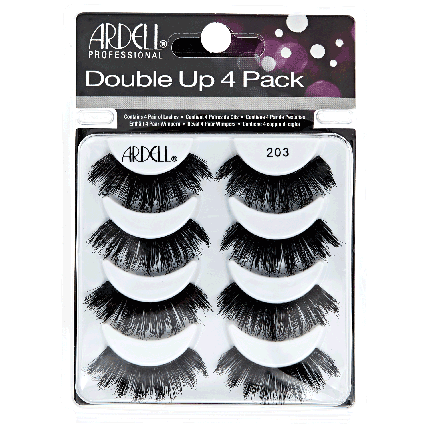 Sally Beauty coupon: Double Up 4 Pack #203 Lashes