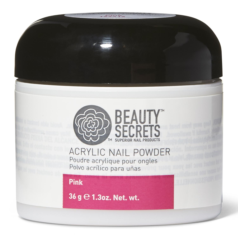 Beauty Secrets Pink Acrylic Powder.